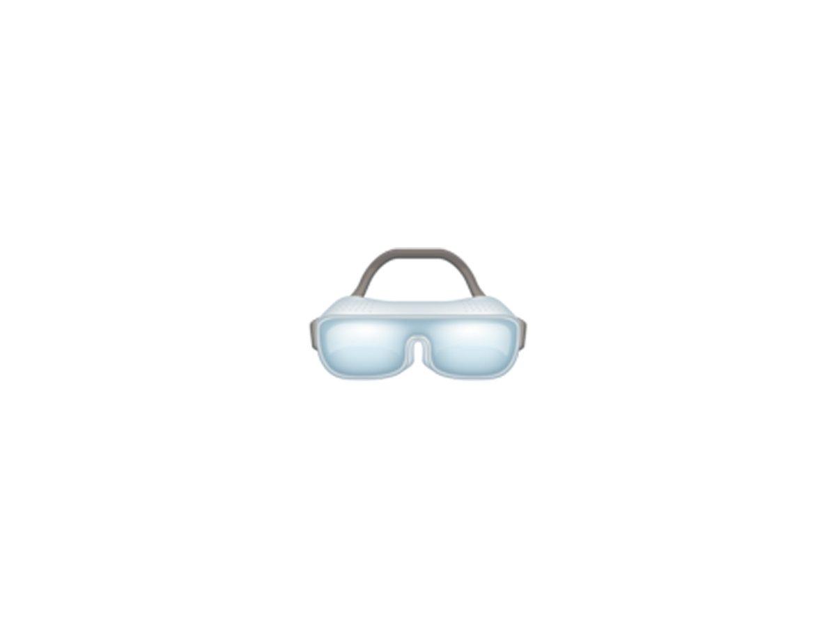 goggles - ایموجی های جدید سال ۲۰۱۸ را قبل از همه اینجا ببینید!