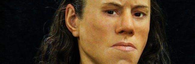 صورت بازسازی شده نوجوان ۹ هزار ساله نشان می دهد که چهره اجداد ما چگونه بوده است!