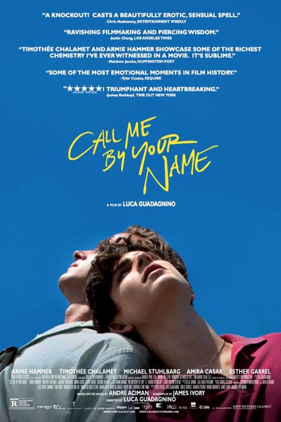 پوستر فیلم Call Me by Your Name به کارگردانی لوکا گوادانینو Luca Guadagnino