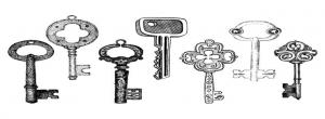 نماد کلید در کیمیاگری