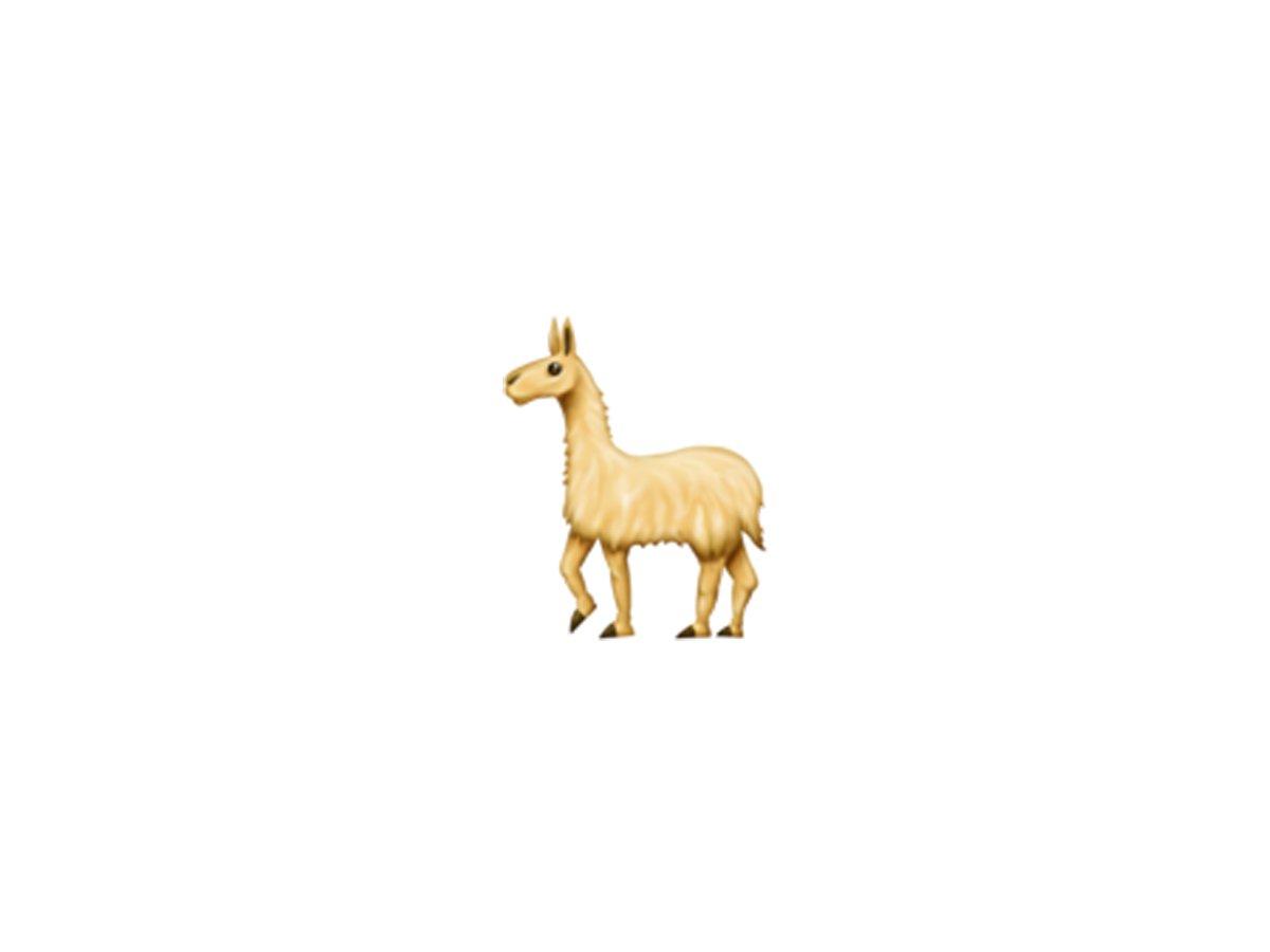 llama - ایموجی های جدید سال ۲۰۱۸ را قبل از همه اینجا ببینید!