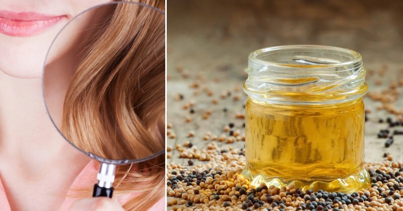امگا ۳ موجود در روغن خردل از دیگر عوامل موثر در حفظ سلامت مو و پرپشت شدن آن است