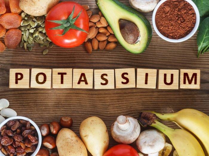 شلغم potassium