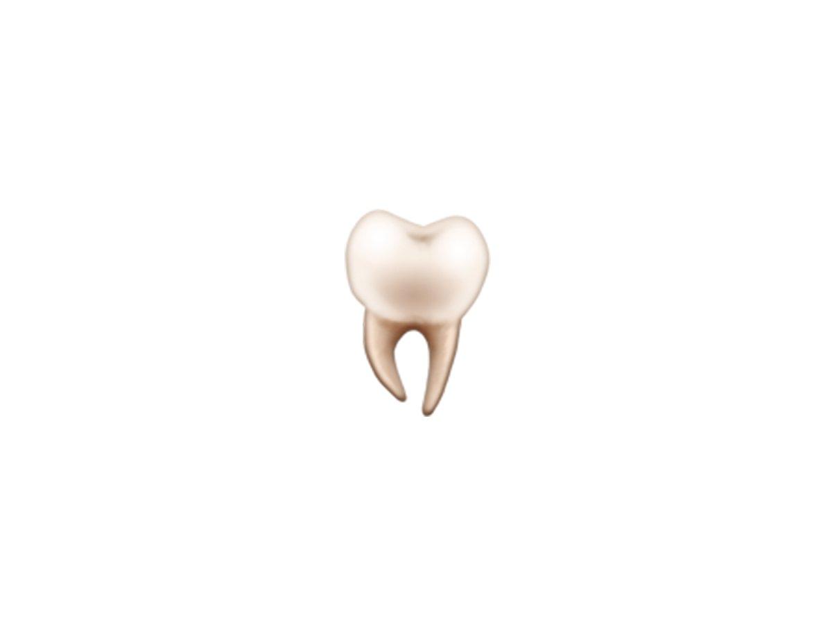 tooth - ایموجی های جدید سال ۲۰۱۸ را قبل از همه اینجا ببینید!