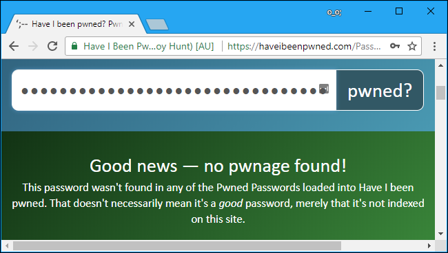 وبسایت haveibeenpwned.com