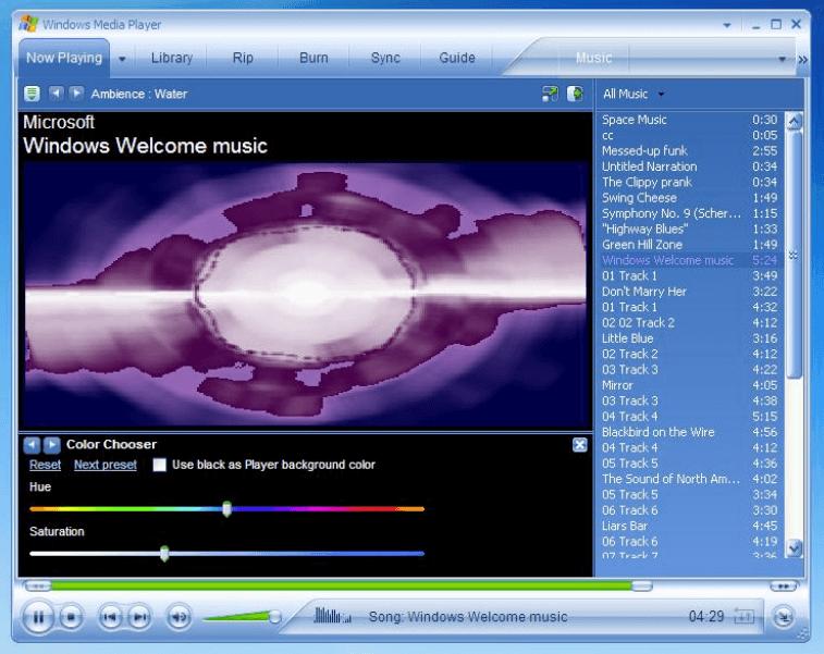 ویندوز مدیا پلیر از ویندوز ۹۸ تا کنون همراه سیستم عامل های مایکروسافت بوده است