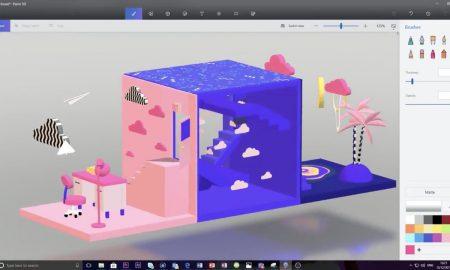 اکنون اپلیکیشن Paint 3D مایکروسافت شما را قادر به ویرایش کار خود در نمای 3D می کند