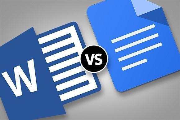 Microsoft Wordو Google Docs