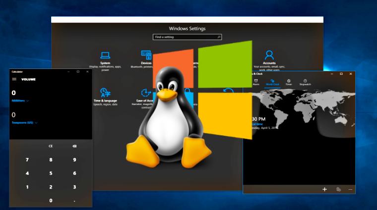 عرضه توزیع های بیشتر لینوکس در ویندوز