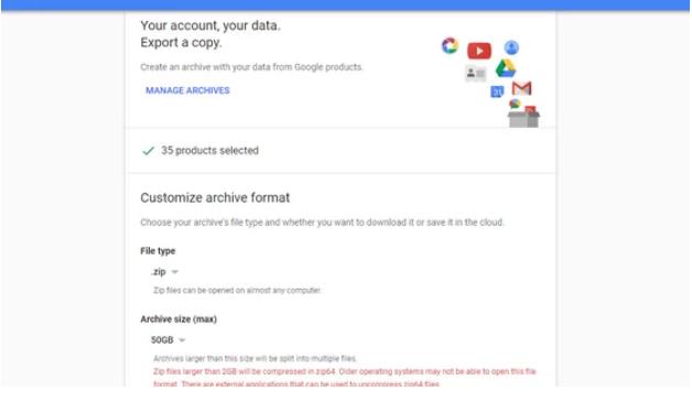 دانلود اطلاعات از گوگل