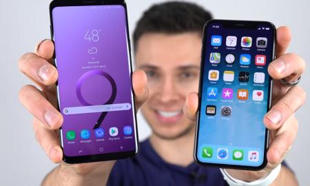 iPhone X یا Galaxy S9 ؟