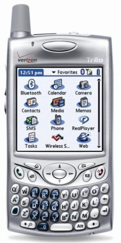 تولید گوشی برند Palm توسط شرکت TLC