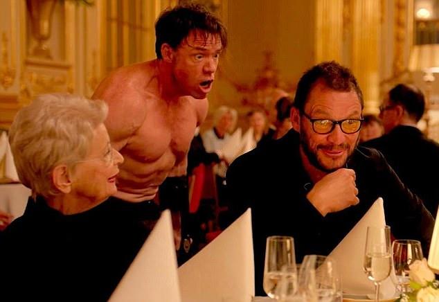 هنرنمایی Dominic West در فیلم The Square