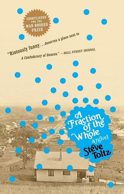 طرح جلد اصلی رمان جزء از کل (با نام اصلی A Fraction of the Whole)