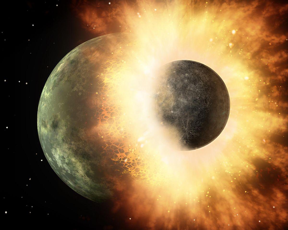 نظریه جدیدی برای چگونگی شکل گیری ماه وجود دارد!!