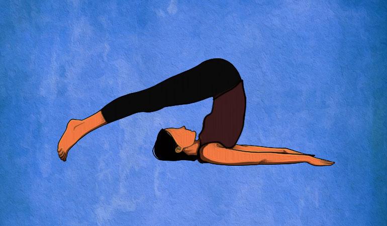 یوگا برای تقویت حافظه - حرحت شخم