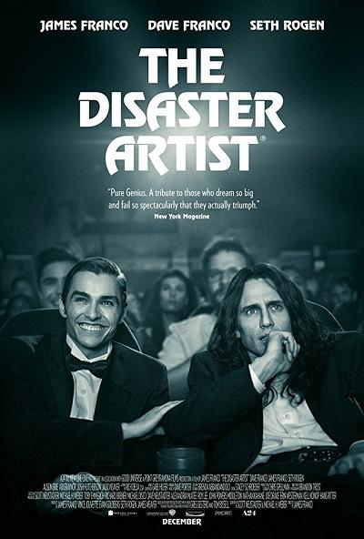 پوستر فیلم The Disaster Artist هنرمند فاجعه