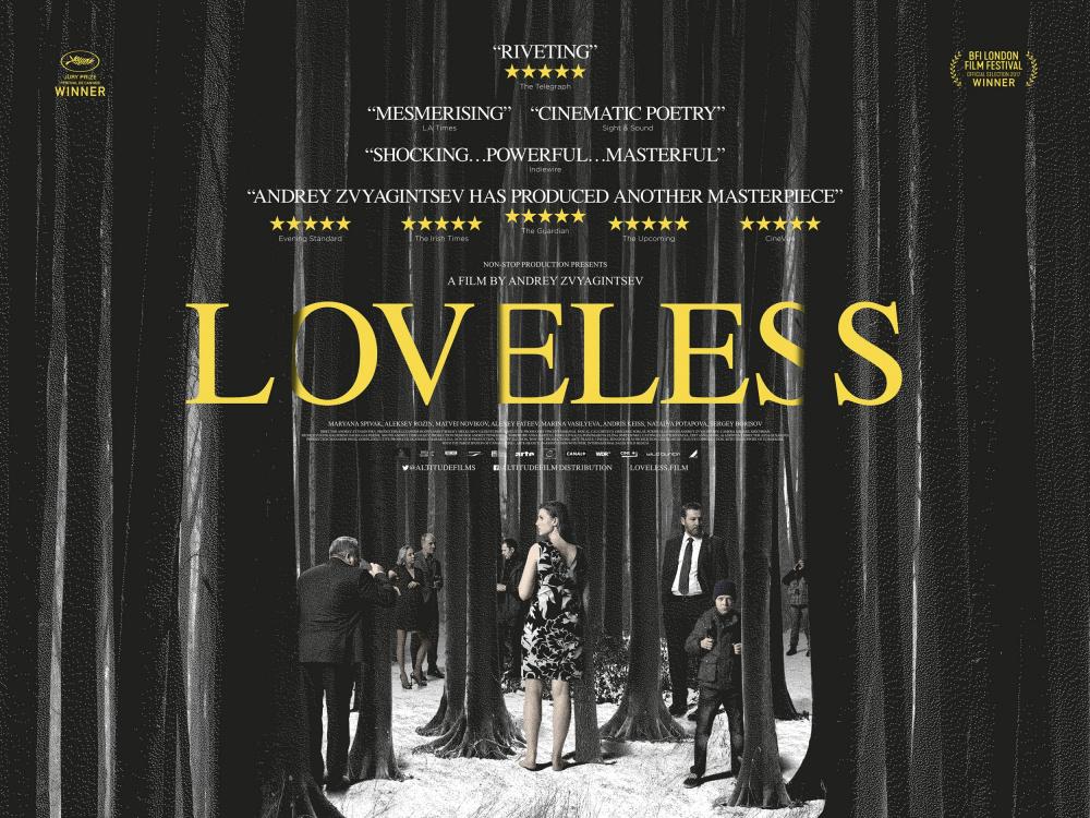 پوستر فیلم Loveless اثری از آندری زویاگینتسف