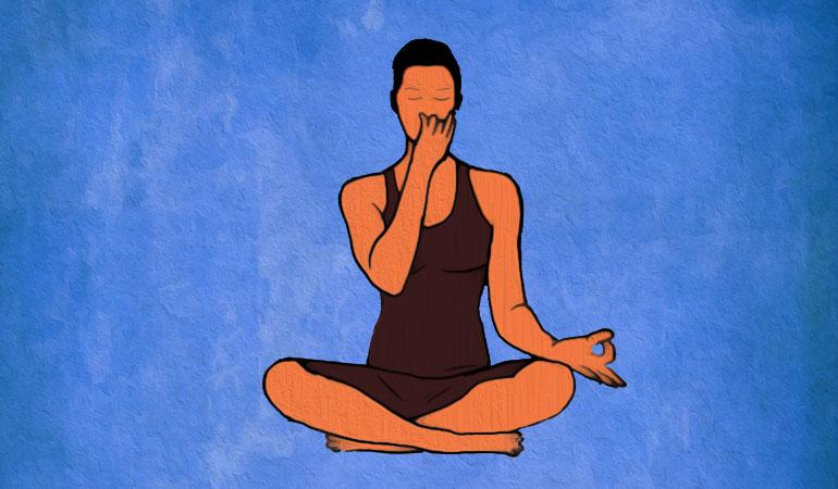 یوگا برای آرامش ذهن - تنفس