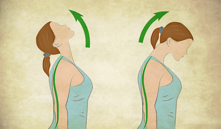 بالا بردن گردن برای درمان گردن درد