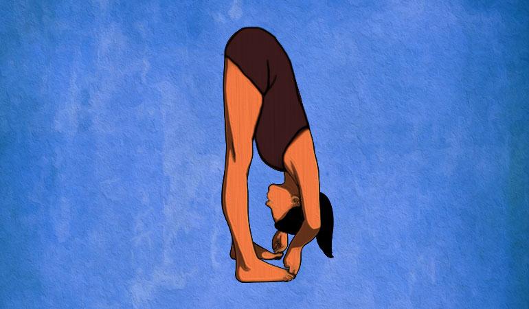 یوگا برای تقویت حافظه - حرکت گرفتن انگشتان پا