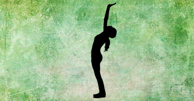 حرکت کوه یوگا برای درمان گردن درد