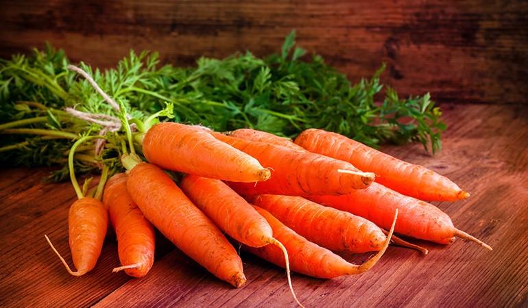 هویج، منبع کاروتنوئید
