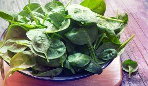 سبزیجات سبز برگ، منبع کاروتنوئید