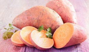 سیب زمینی شیرین، منبع کاروتنوئید