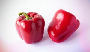 فلفل قرمز شیرین، منبع کاروتنوئید