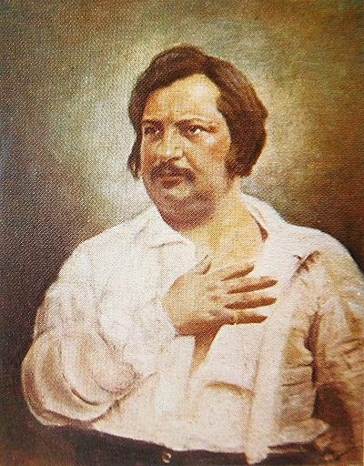 اونوره دو بالزاک Honoré de Balzac نویسندهی مشهور و برجستهی فرانسوی (۱۸۵۰-۱۷۹۹)