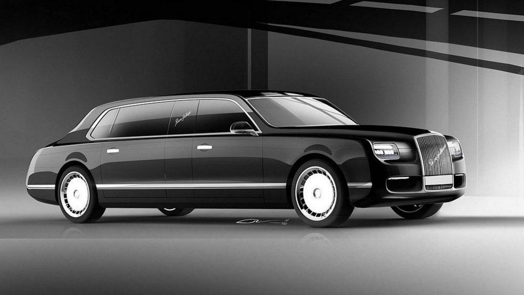 اتومبیل جدید ولادیمیر پوتین
