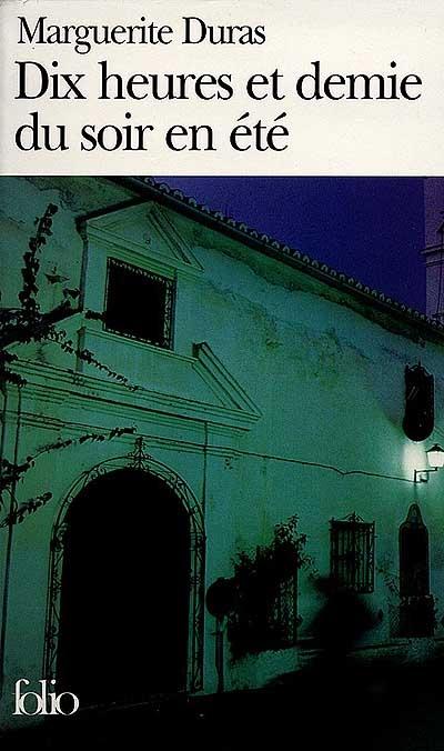 طرح جلد رمان ساعت ده و نیم شب در تابستان با نام اصلی Dix heures et demie du soir en été