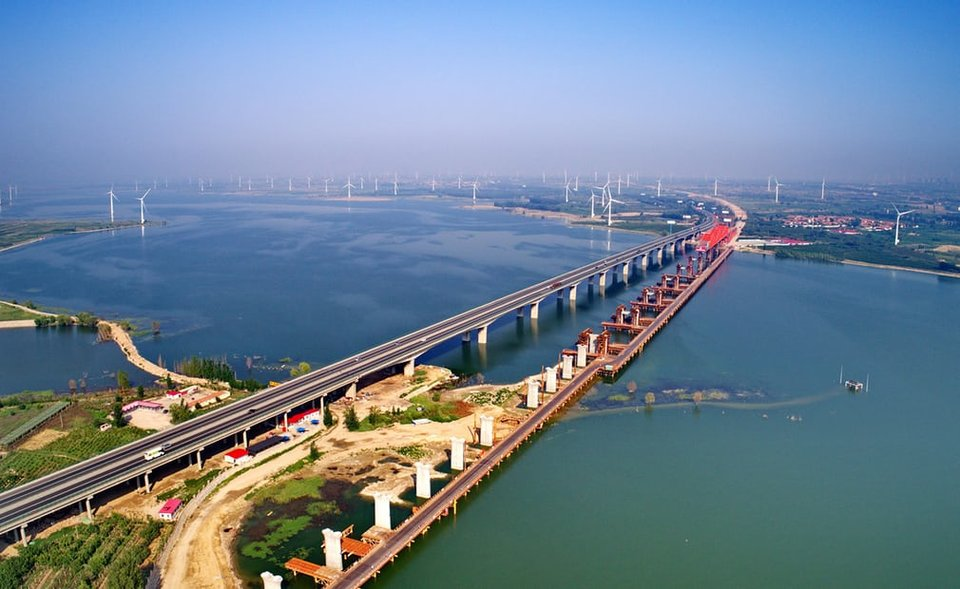 پل باشکوه Tianjin