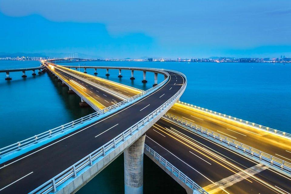 پل خلیج Jiaozhou