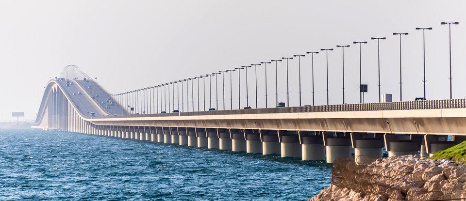 پل گذرگاه شاه فهد (King Fahd Causeway Bridge)