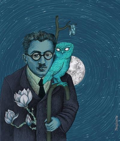 داریوش مهرجویی گفته است بوف کور به واقع اولین کتاب ادبیات مدرن است که در ایران خلق شده است. او الگوی خود را برای ساختن فیلم هامون، بوف کور میداند.