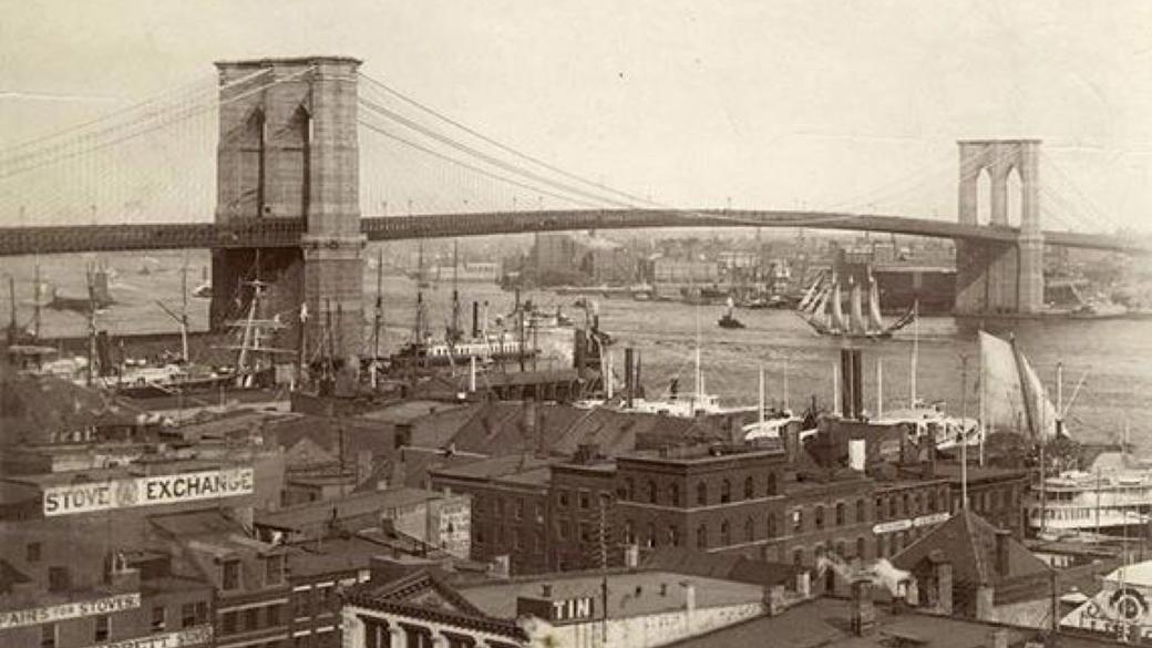 پل معروف بروکلین، نیویورک