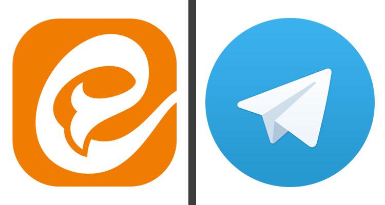 ایتا نمونه شبیهسازی تلگرام