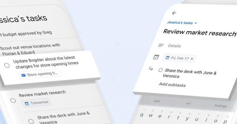معرفی اپلیکیشن Task گوگل