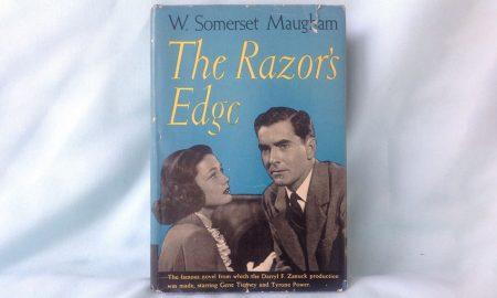 رمان لبه تیغ The Razor's Edge اثری از نویسنده انگلیسی، ویلیام سامرست William Somerset Maugham