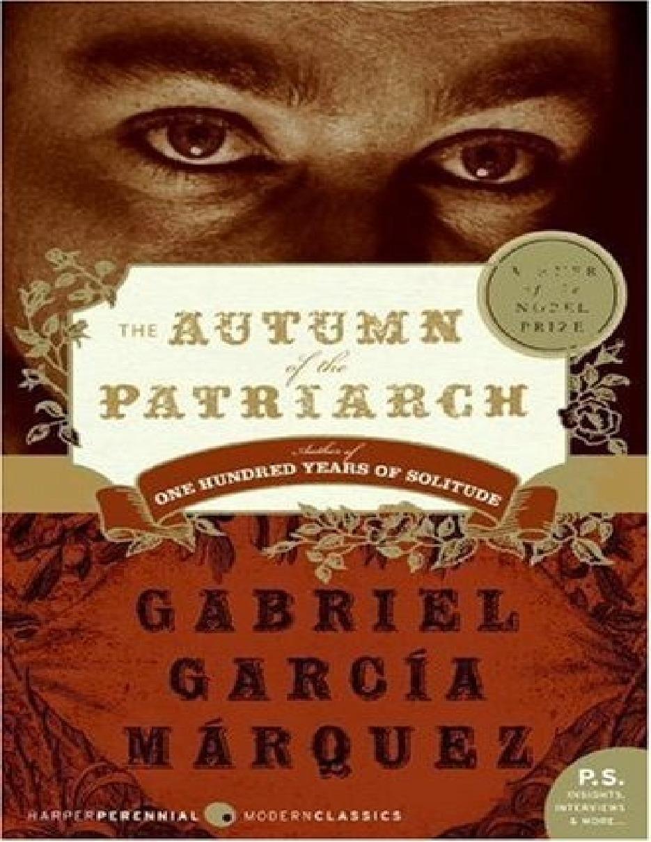 رمان پاییز پدرسالار نوشته گابریل گارسیا مارکز