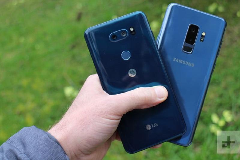 مقایسه ی دوربین LG V30S ThinQ با Samsung Galaxy S9