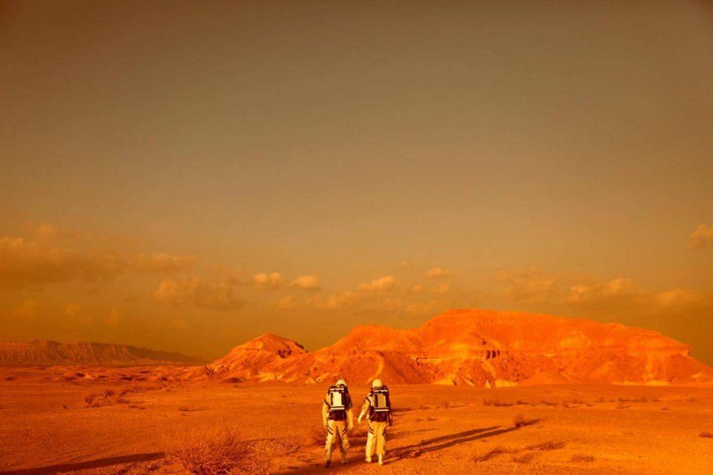 عملیات شبیه سازی شده ی ارسال انسان بر سطح مریخ