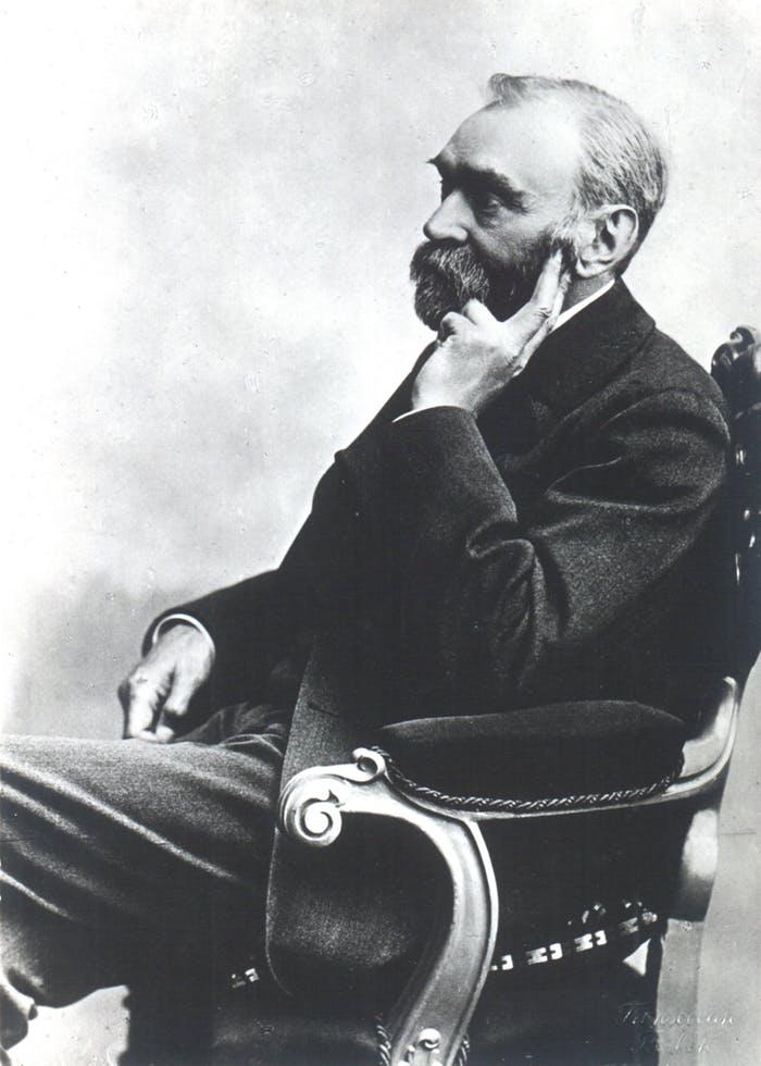 (Alfred Bernhard Nobel (1833-1896