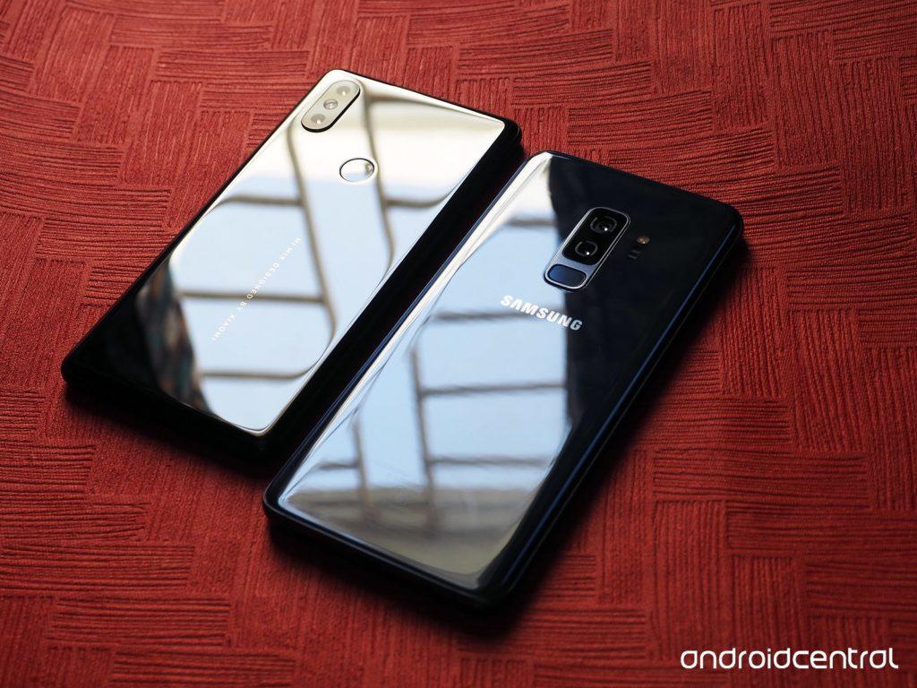 مقایسه کامل سامسونگ گلکسی S9+ و شیائومی Mi Mix 2S