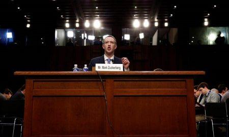 بازپرسی از رئیس فیسبوک