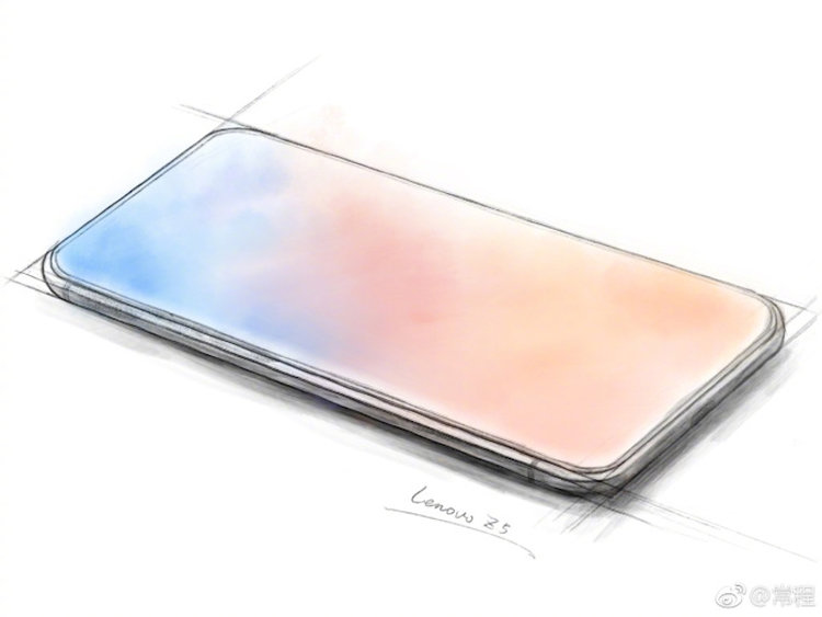 "Lenovo Z5، گوشی هوشمند ""تمام صفحه"" آینده"