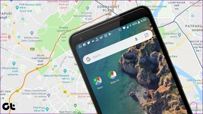 مقایسه Google Maps با Maps Go