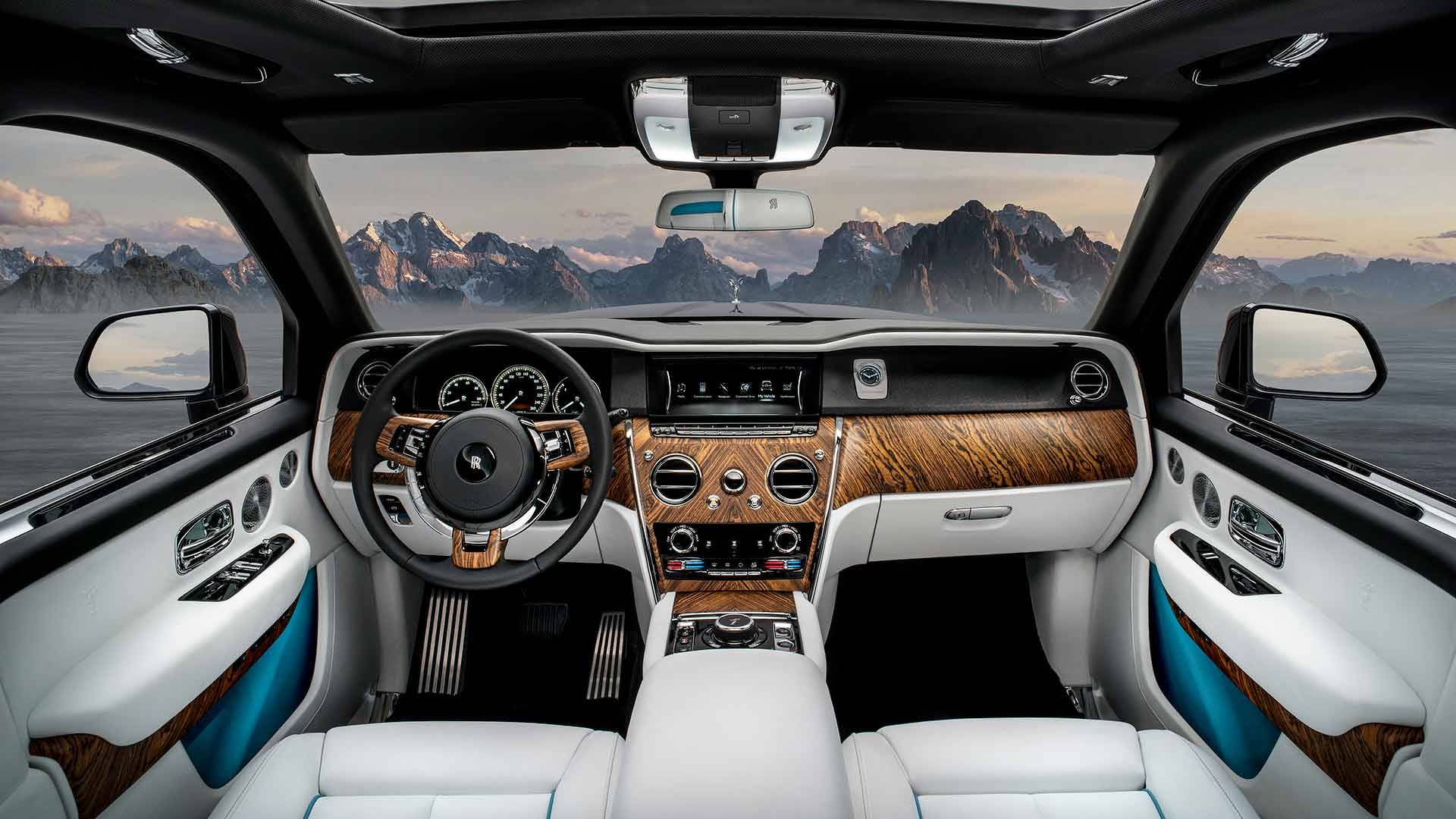رولز رویس کالینان Rolls Royce Cullinan معرفی شد